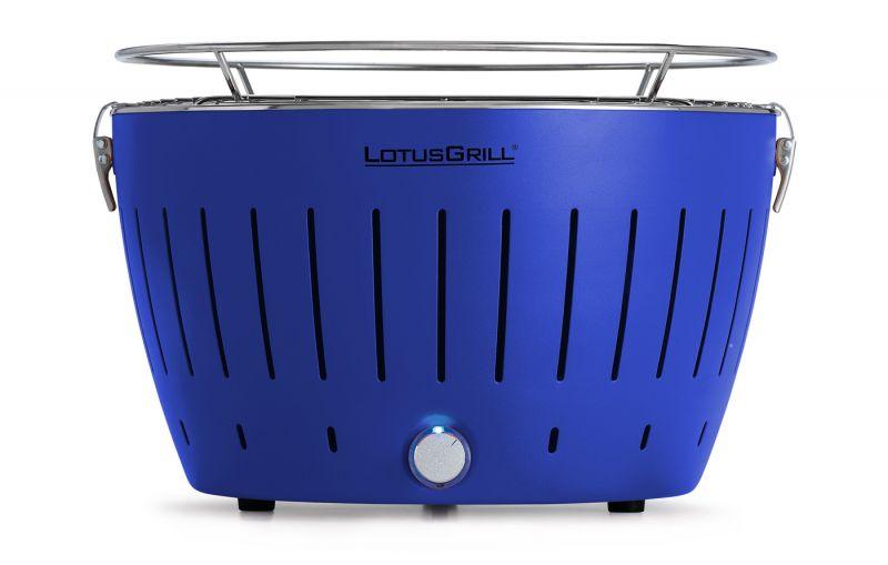 Lotusgrill Rauchfreier Holzkohlegrill Erfahrungen : Lotusgrill rauchfreier holzkohlegrill 3 7kg tiefblau