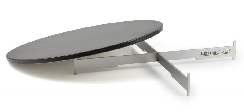 pizzastein set f r lotusgrill xl. Black Bedroom Furniture Sets. Home Design Ideas